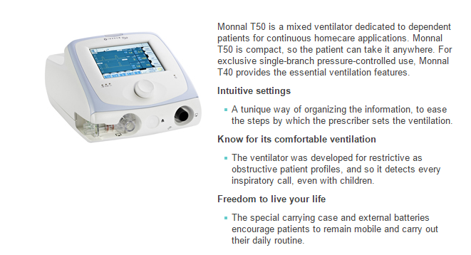 monnal t75 ventilator user manual